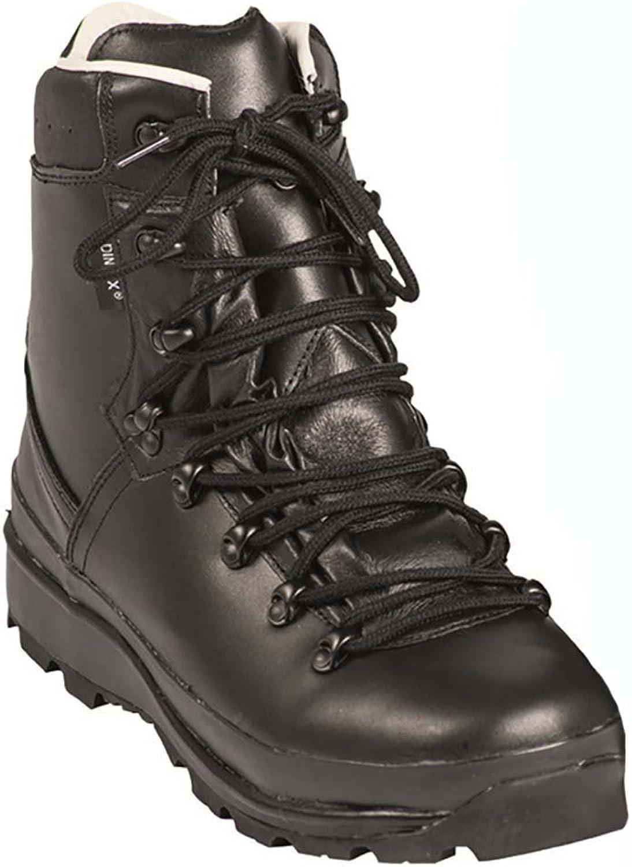 Mil-Tec BW German Army Mountain Boots Black