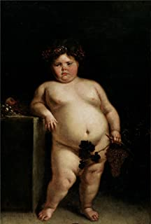 Oil Painting 'Carreno De Miranda Juan The Monster Nude Or Bacchus Ca. 1680' 16 x 24 inch / 41 x 60 cm , on High Definition HD canvas prints, gifts for Bath Room, Home Office And Home Theater decor