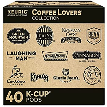 Keurig Coffee Lovers  Collection Variety Pack Single-Serve Coffee K-Cup Pods Sampler 40 Count