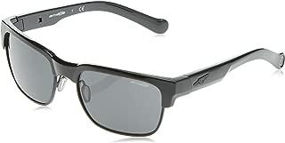 Arnette Dean AN4205-41/87 Sunglasses Gloss Black Frame 59mm w/Grey Lens 59mm