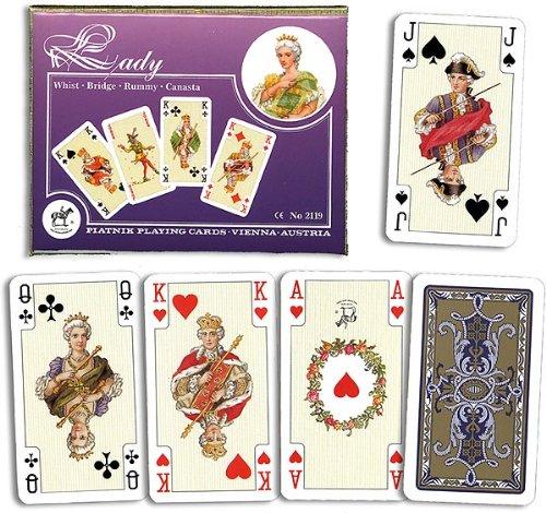Piatnik Kartenspiele, Romme, Lady