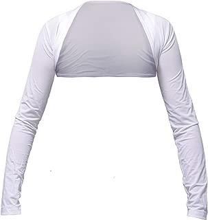 SJ Style 4-Size UV Sun Protection Cooling Shawl Anti-UV Bolero Long Arm Sleeves Golf, Bike, Outdoor Sports