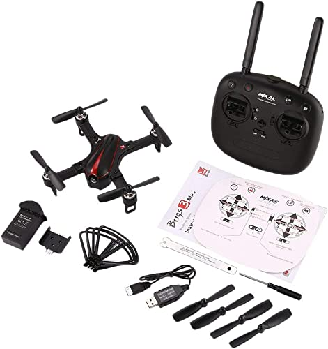 Gugutogo MJX B3 Mini 2.4GH 4CH Brushless 1306 2750KV Motor Drone Angle and Acro Mode Flip & Roll RC Quadcopter with LED Light