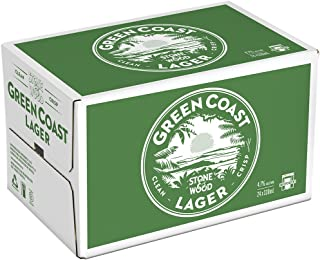 Stone & Wood Green Coast Lager Beer (Case of 4, Total 24 Bottles),