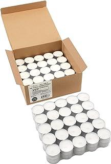 شمع های چای سبک 6-7 ساعته - استفاده از وسایل شمع شناور - 100 بسته