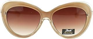 Giselleレディース キャットアイデザイン ファッションサングラス 厚いプラスチック