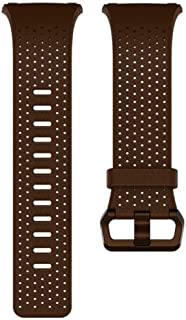 Fitbit Ionic, Accessory Band, Perforated Leather, Cognac, S