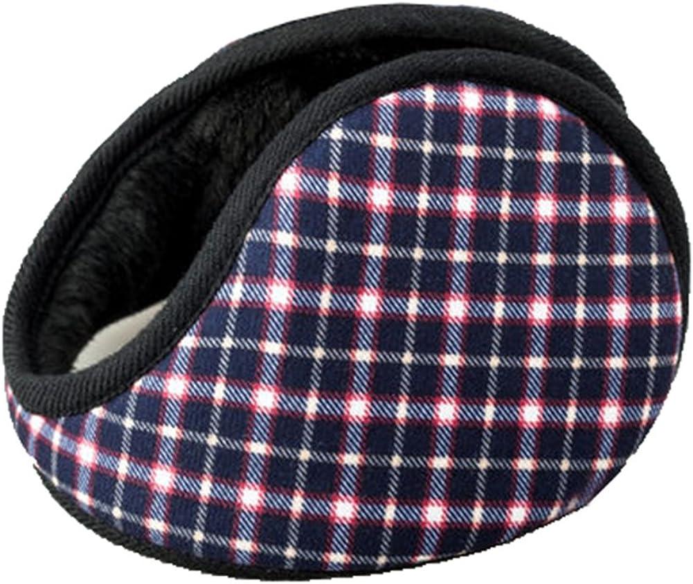 Unisex Outdoor Winter Warm Earmuffs Behind-the-Head Ear Muffs (007)