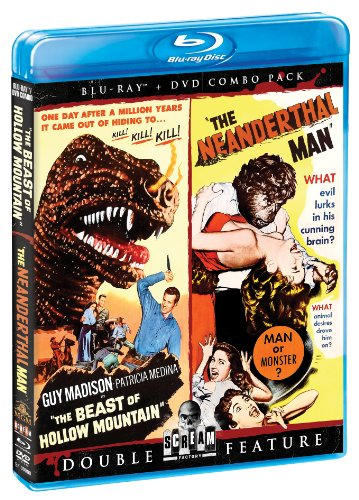 Beast Of Hollow Mountain / Neanderthal Man [Edizione: Stati Uniti] [Reino Unido] [Blu-ray]