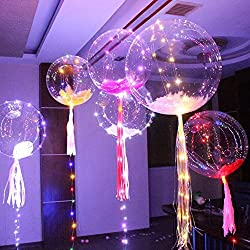 Decoration item LED balloons