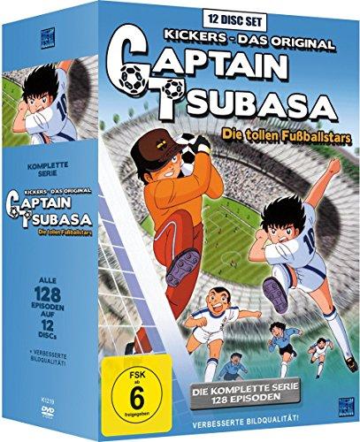 Captain Tsubasa: Die tollen Fußballstars - Die komplette Serie [12 DVDs]