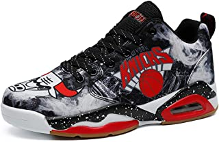 Men's Women's Air Cushion Athletic Couple Running Shoes Sneaker,Youth Basketball Shoes