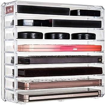 Tidyups Dividers For Eyeshadows Kit De Separateur De Tiroir Pour Ikea Alex 5 Ou 9 Compartiments Cosmetiques En Acrylique Cuisine Maison Ameublement Et Decoration