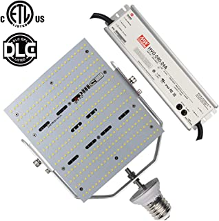 Caree-LED E39 Mogul Base LED Parking Lot Retrofit 347 Volt 480 Volt 240W Outdoor Shoebox Light Replace 1500Watt Metal Halide/HPS/HID,6000K Daylight White Retrofit Canopy Light 180V-528Vac