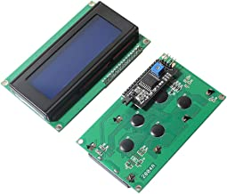 IIC / I2C / TWI Serial Interface Board 2004 204 20X4 5V (20 Characters x 4 Lines) LCD Module Display Monitor Compatible Arduino