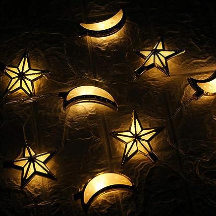 2019HoHo Guirlande Lumineuse à LED pour décoration d\u0027intérieur ou  d\u0027extérieur avec 10