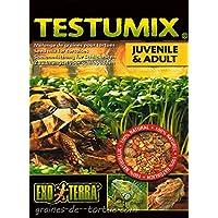 Mezcla de semillas para tortugas y reptiles:- Testumix, 75gramos.