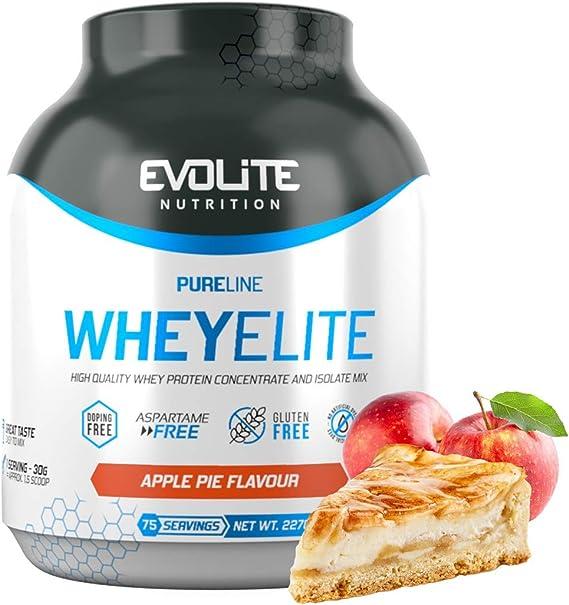 Evolite Nutrition WheyElite 2270g - Proteina Whey - Crear Batidos Para Adelgazar - Proteinas Para Aumentar Masa Muscular - Proteina Isolada (plátano)