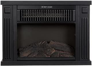 Northwest 80-EF480-B Portable Mini Electric Fireplace Heater, 13