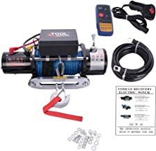 Tool Offroad Wireless Switch Classic 12V Rope Electric Winch 12000lb.Load Capacity