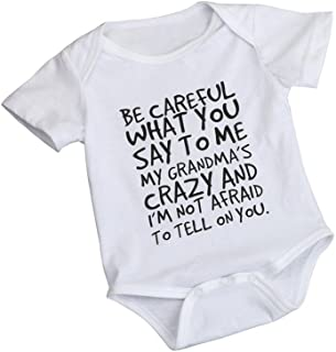 0-24 Months Newborn Infant Baby Kids Girl Boy Letter Print Romper Jumpsuit Sunsuit Outfits Clothes