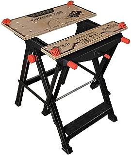 BLACK+DECKER BDST11000 Workmate Workbench 550lb Capacity Work Bench WM1000 (Renewed)