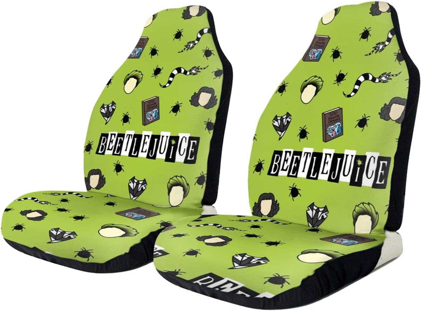 Beetlejuice Car Seat Covers Interior Accessories Max 41% OFF Pad Mat Gifts Cushion