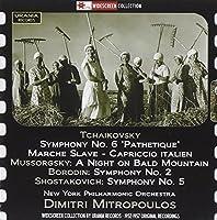 Tchaikovsky: Symphony No. 6, 'pathetique'/Marche Slave/... by New York Po (2014-09-26)