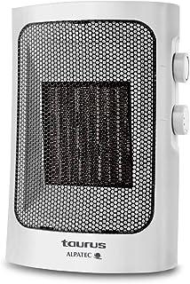 Taurus Tropicano 5C Termoventilador cerámico, calefactor, 2 velocidades de calor, función ventilador, 750/1500W, compacto, asa de transporte, termostato, sensor anticaída, Multicolor
