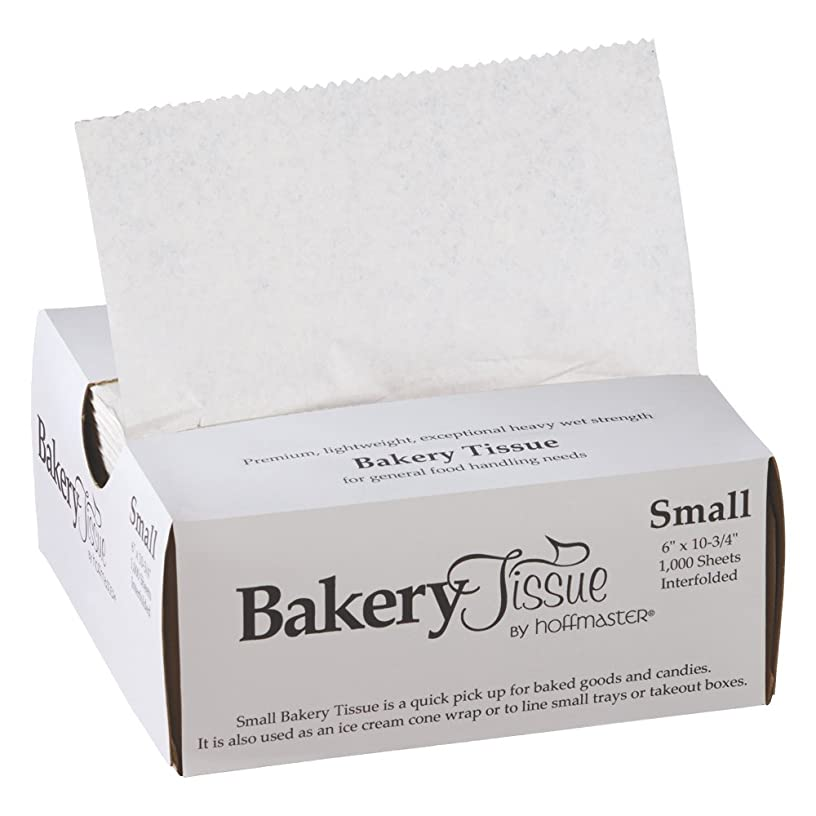 Hoffmaster 110850 Waxed Bakery Tissue, White, Small 6
