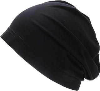 WDSKY قبعة نوم نسائية من الخيزران الناعم مع شريط مطاطي