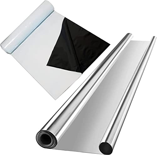 discount VIVOSUN Horticulture Highly Reflective Mylar Film Roll 4FT X popular 100FT 2 Mil, and Black and White new arrival Panda Film 10' x 50' 5.5 Mil Poly Film sale