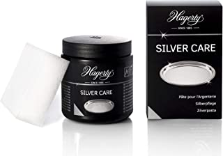 Hagerty Silver Care Nettoie et Prend Soin de l'Argent et des Objets en Argent, Maxi Brillance, 150 ml