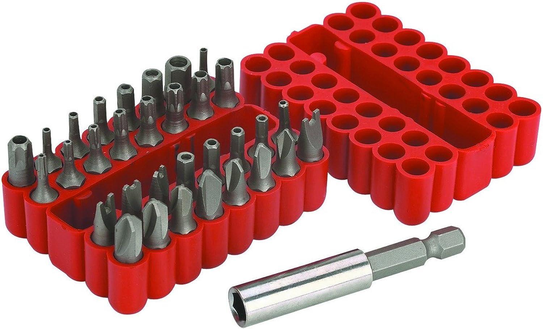 Warrior Sicherheit Bit Set CRV Stahl, Stahl, Stahl, 33 Pc B00ENBRB5Y | Clever und praktisch  410119