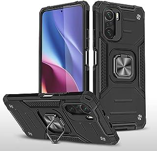 GOGME Case voor Xiaomi Mi 11i 5G Heavy Duty Army Case Premium Dual Layer Anti-Kras Shockproof Harde PC Cover, met Kickstan...