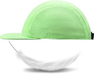 ZOWYA Flat Snapback Hats for Men Women Unstructured Flat Visor Sports Cap Mesh Trucker Hat Blank Underbill, 1 Pack
