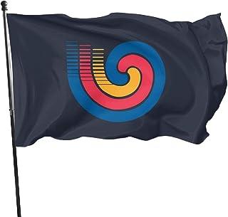 maymer Bandera ol/ímpica de 1,5 m x 9 m
