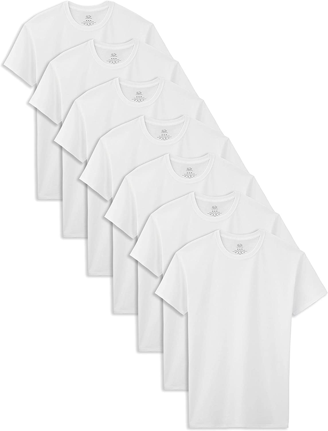 Fruit of the Loom Boys' Cotton White T Shirt