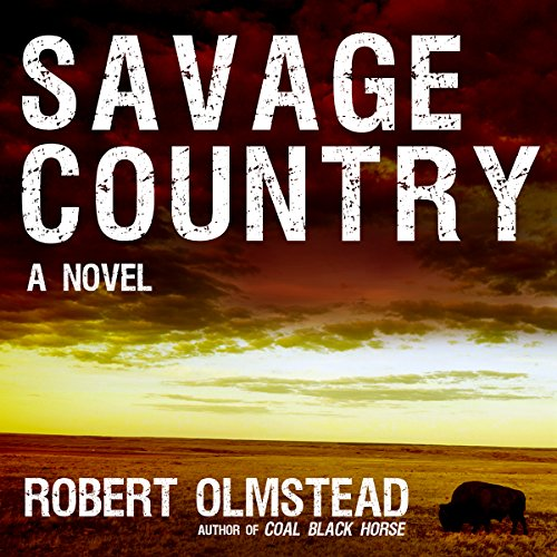 Savage Country audiobook cover art