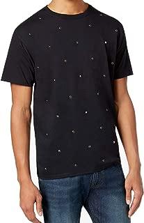 Sean John Mens Multi Stud Embellished Tee T-Shirt