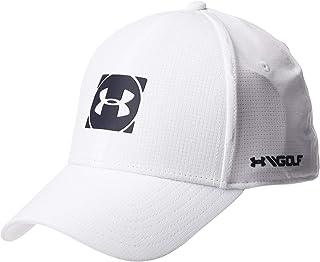 Under Armour Men's Official Tour 3.0 Cap, White (White/Academy), Medium/Large