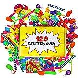 THE TWIDDLERS Lot de 120 Jouets de Première Qualité | Grand Assortiment | Parfait Anniversaire Surprise | Piñatas | Petit Cadeaux Prix Carnaval - Sac Cadeau aux Invités Fête | Cadeaux de fête de Noël