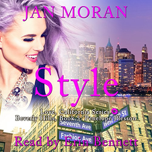 Style audiobook cover art
