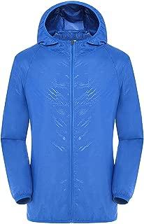 Ultra Light Rainproof Windbreaker Jacket Breathable Waterproof Windproof for Women Men