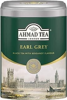 Ahmad Tea Earl Grey 100 Gramm loser schwarz Tee in Spezial Dose