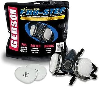 Gerson Pro-Step Silicone Half Mask Kit Professional Series Half Mask Respirator Kit OV/P95 (Large)