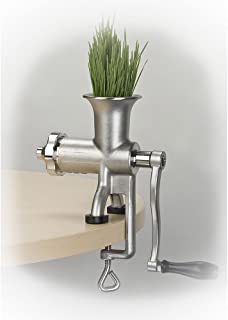 Miracle Exclusives Stainless Steel Manual Wheatgrass Juicer MJ445