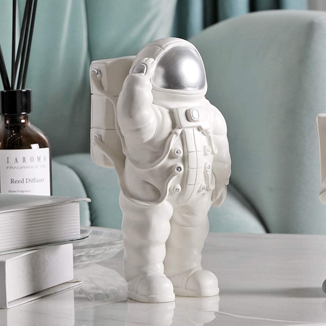 Milwaukee Mall GEPIJPGEKH Max 47% OFF White Astronaut Model Figure Cosmonaut Holders Phone