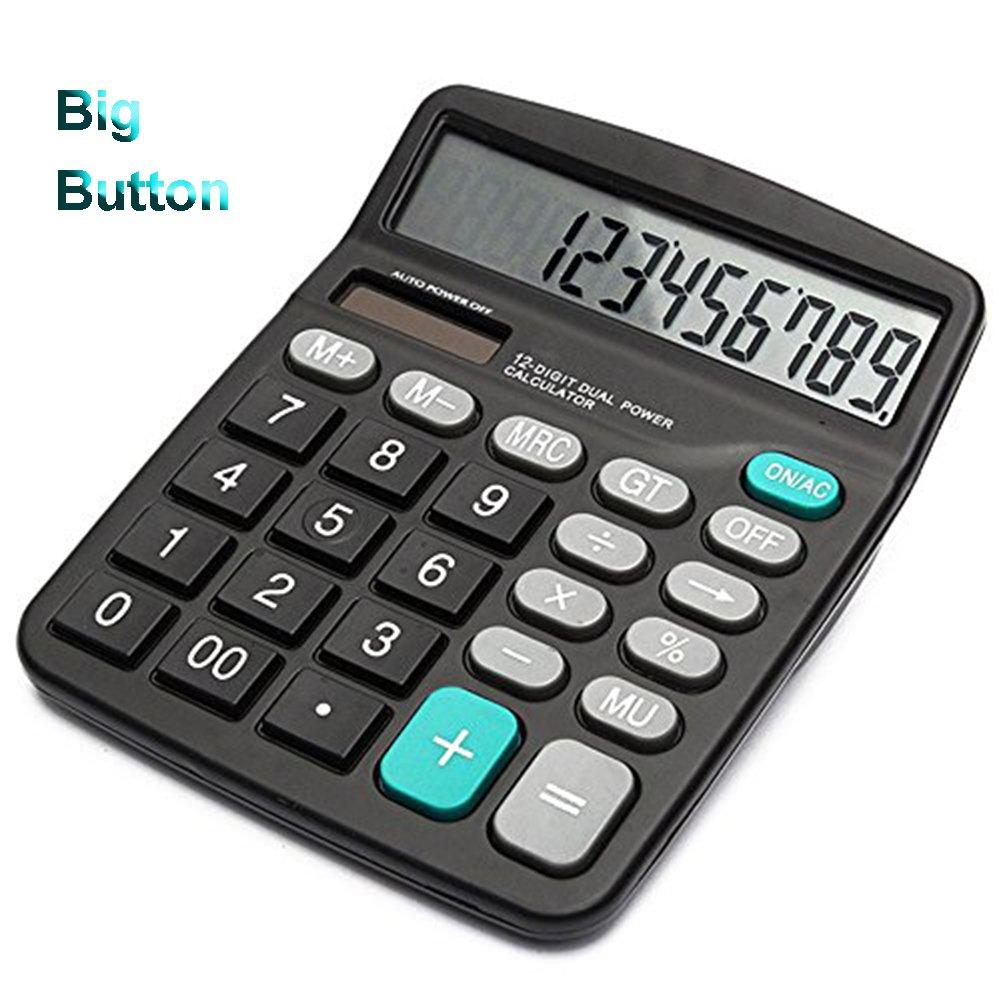 Osalo Anycount 12 Digit Electronic Calculator Desktop Series OS-3M BNIB #AZG