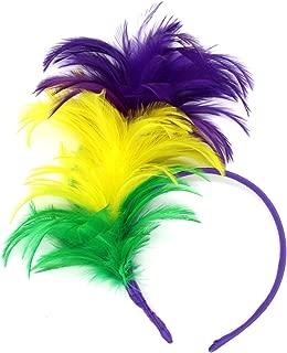1920s Fascinator Feathers Headband for Women Kentucky Derby Wedding Tea Party Headwear Girls Flapper Headpiece
